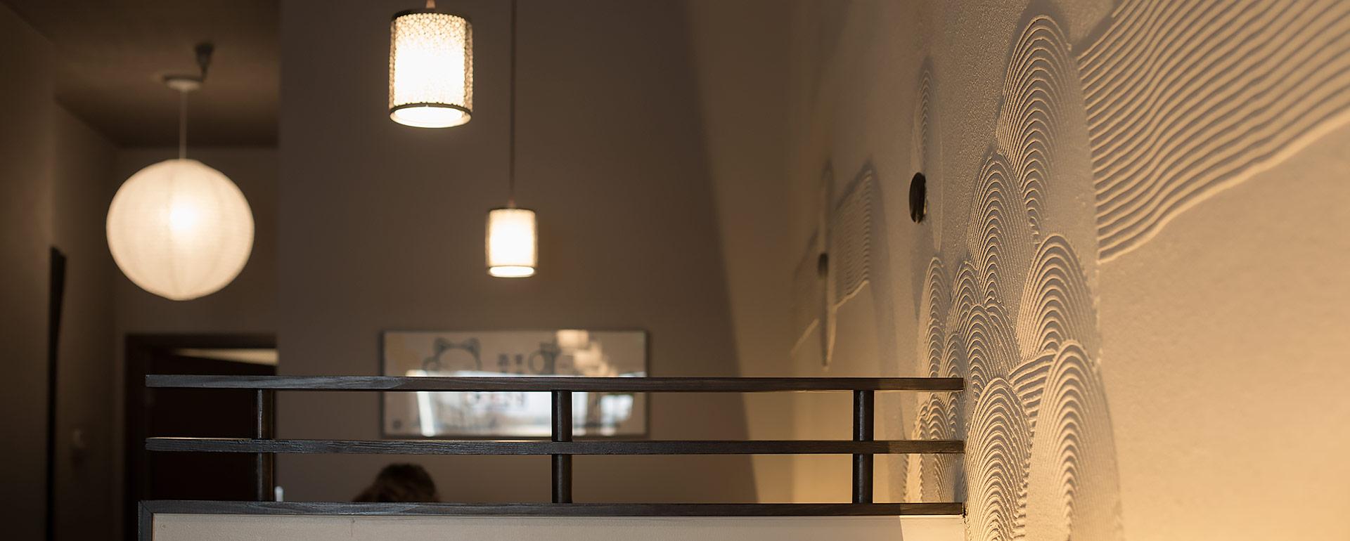 interior of Arashi Ramen